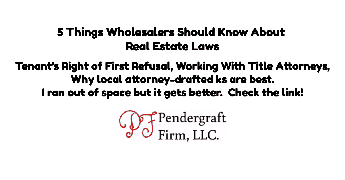 5-things-wholesalers-real-estate-laws