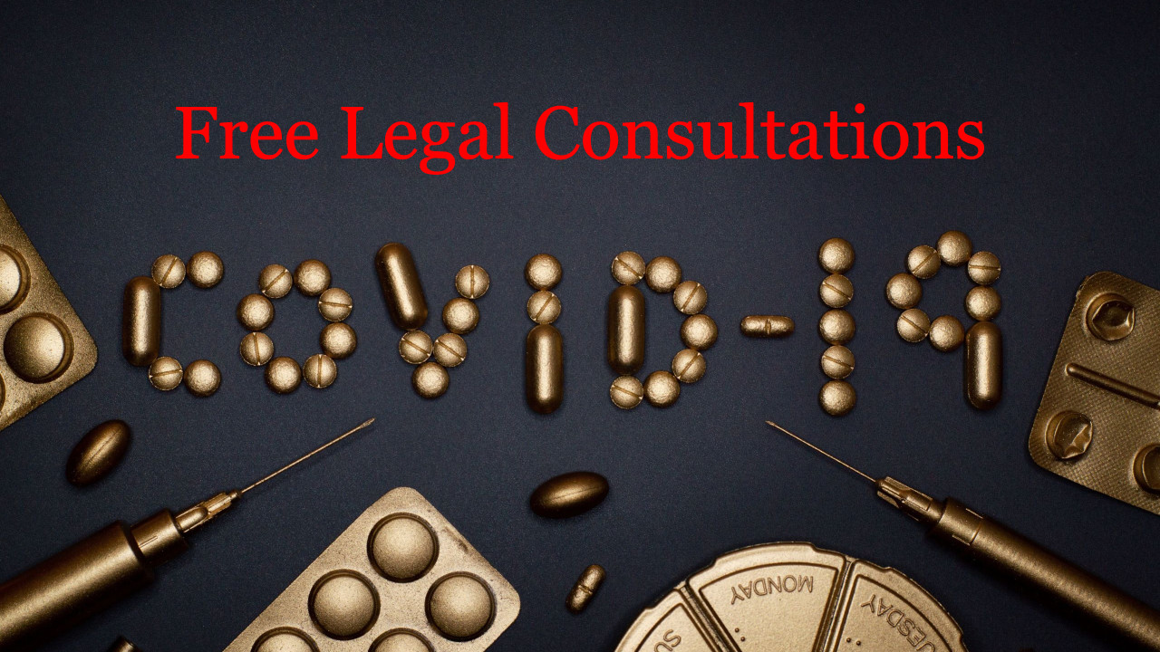 COVID-19 Free Legal Consultations