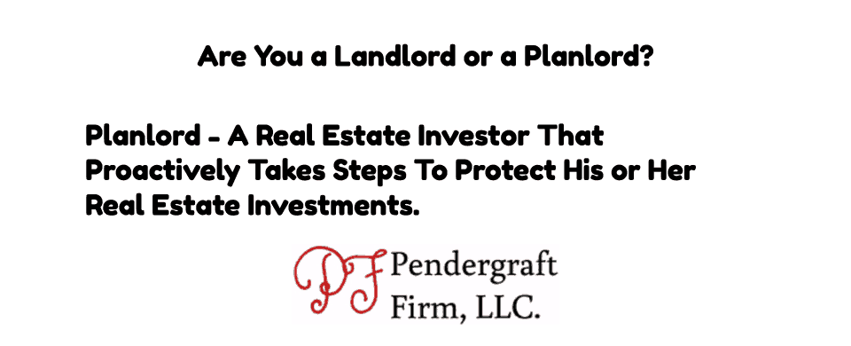Are You a Landlord or a Planlord?
